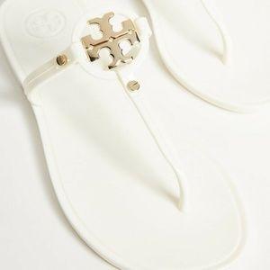 Tory Burch Mini Miller Sandal White